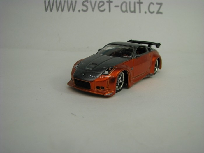 Nissan 350 Z 2006 Orange 1:64 Jada Toys